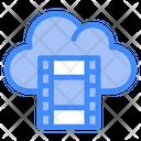 Cloud Film Icon