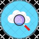 Cloud Search Cloud Exploration Cloud Finding Icon
