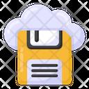 Cloud Drive Cloud Floppy Cloud Storage Icon