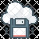 Cloud Floppy Disk Icon