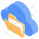 Cloud Computing Cloud Technology Cloud Folder Icon