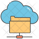 Cloud Folder Cloud Document Cloud Computing Icon