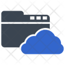 Cloud Data Folder Icon