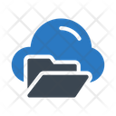 Cloud Files Storage Icon