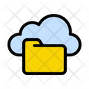 Folder Directory Cloud Icon