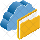 File Folder Save Icon