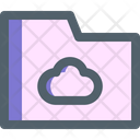 Cloud Document Storage Icon