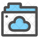 Cloud Folder Online Folder Cloud Computing Icon