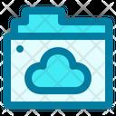 Online Folder Cloud Cloud Computing Icon