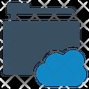 Cloud Data Folder Icon