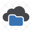 Cloud Directory Files Icon