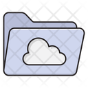 Cloud Folder Files Icon