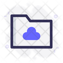 Cloud Folder Cloud Storage Icon