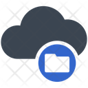 Folder Storage Cloud Icon
