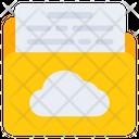Cloud Folder Cloud File Cloud Document Icon