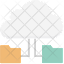 Cloud Folder Cloud Computing Data Accessibility Icon