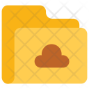 Cloud Folder Data Icon