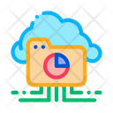 Statistician Cloud Storage Icon