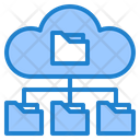 Cloud Folder Network Icon