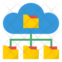 Cloud Folder Network Folder Network Network Icon