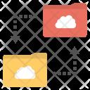 Cloud Folder Sync Icon