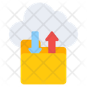 Cloud Folder Transfer Icon