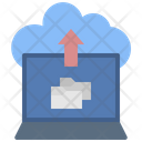Cloud Folder Upload Icon