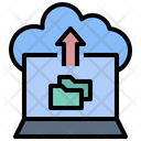 Cloud Folder Upload Cloud Storage Upload Icon