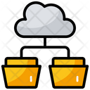 Cloud Folders Icon