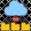 Cloud Folders Icon