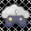 Cloud Gaming Cloud Joystick Game Controller Icon