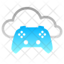 Cloud Gaming Gamepad Gaming On Demand Icon