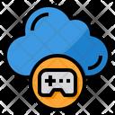 Cloud Gaming Data Icon