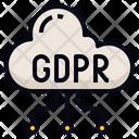 Data Transfer Cloud Icon