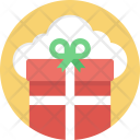 Cloud Gift Service Icon