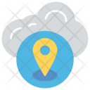 Web Locationing Navigation Icon