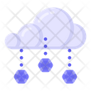 Cloud Hailing Icon