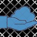 Cloud Hand Icon
