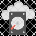 Cloud Hard Disk Icon