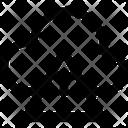 Cloud Hazard Network Services Network Hosting Icon