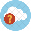Cloud Help And Icon