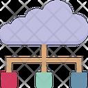 Cloud Hierarchy Icon