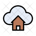 Cloud Home Database Icon