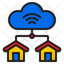 Cloud Home Connection Icon