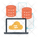 Cloud Hosting Computing Icon