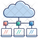 Cloud Computing Cloud Hosting Cloud Technology Icon