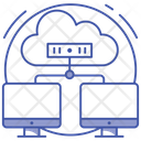 Cloud Hosting Icon