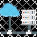 Cloud Computing Cloud Hosting Data Cloud Icon