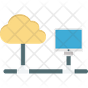 Cloud Computing Cloud Hosting Data Cloud Icon