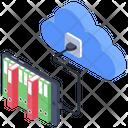 Cloud Hosting Icon
